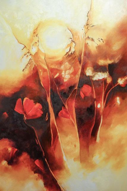 """""""Meadow Sunrise"""" 24X36"""