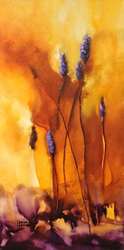 """Exhalation"" 12 X 24 SOLD"