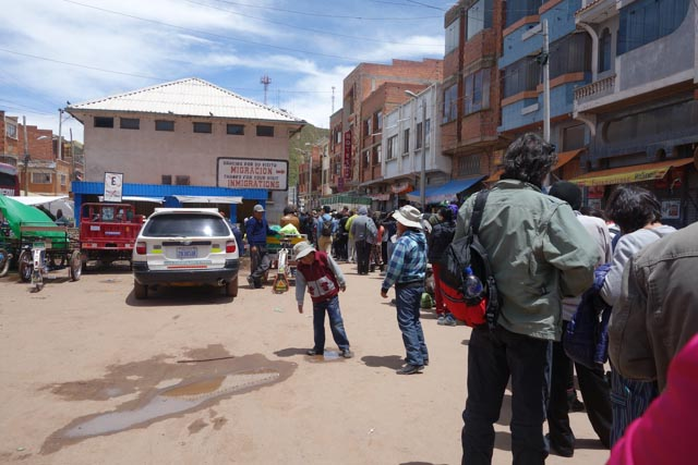 Bolivian Border Crossing