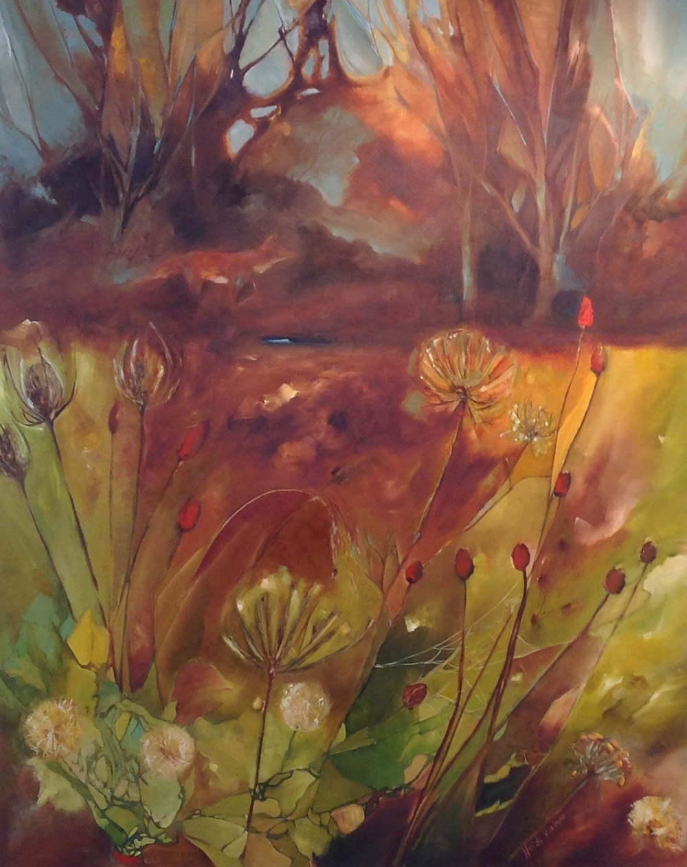 """In the Autumn Dawn"" 30 X 24"