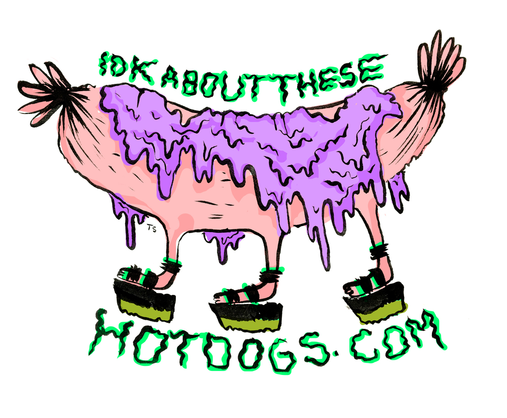 Sticker #4 for IDKaboutthesehotdogs.com