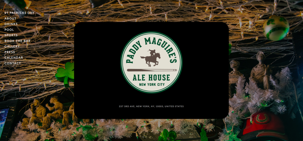 Paddy Maguire'sAle House -