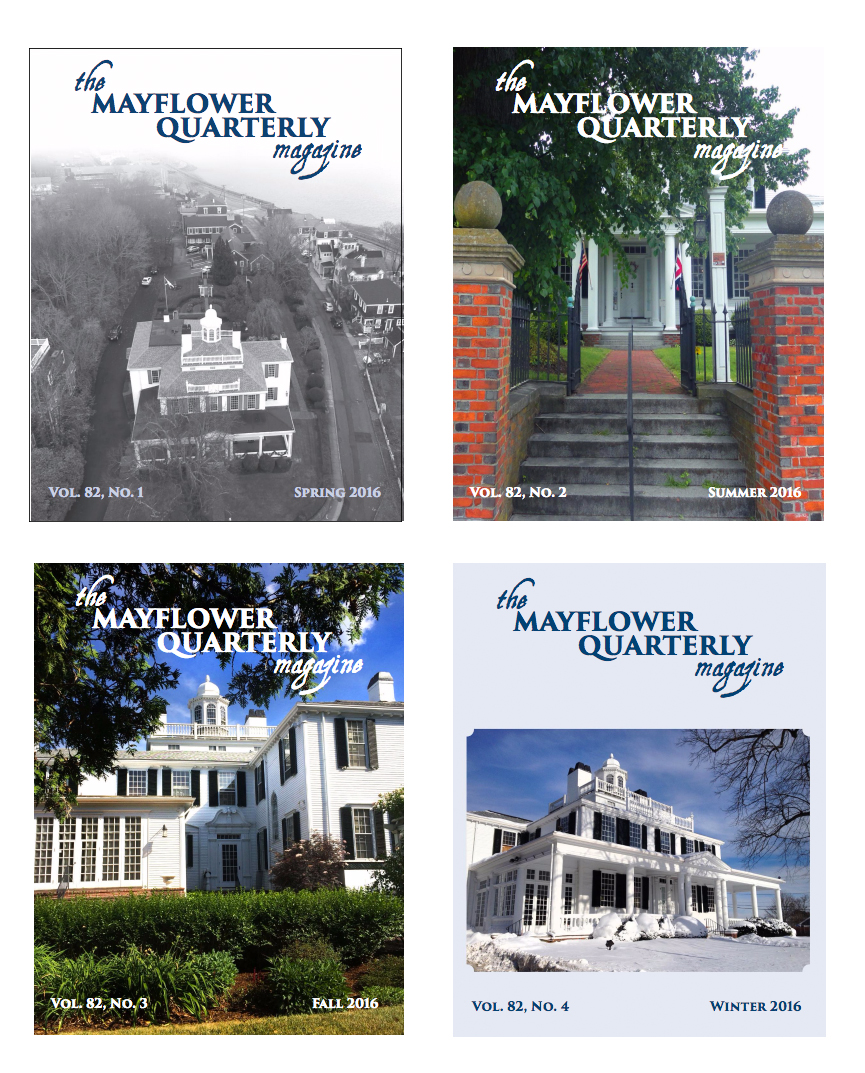 Miscellaneous Covers, the Mayflower Quarterly Magazine