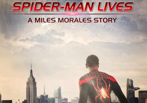 SpiderMan Lives Miles Morales