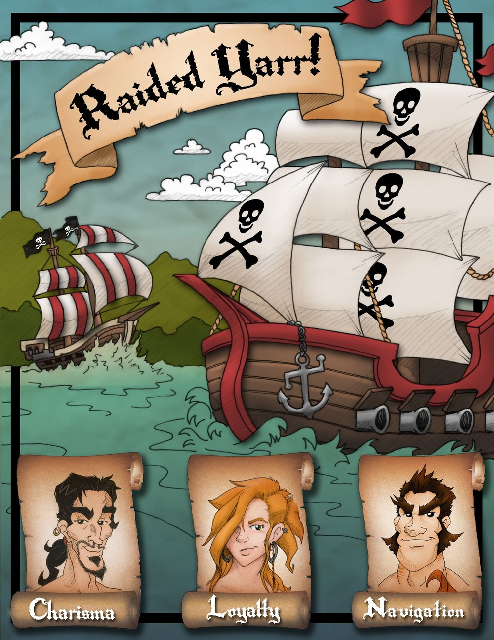Raided Yarr!