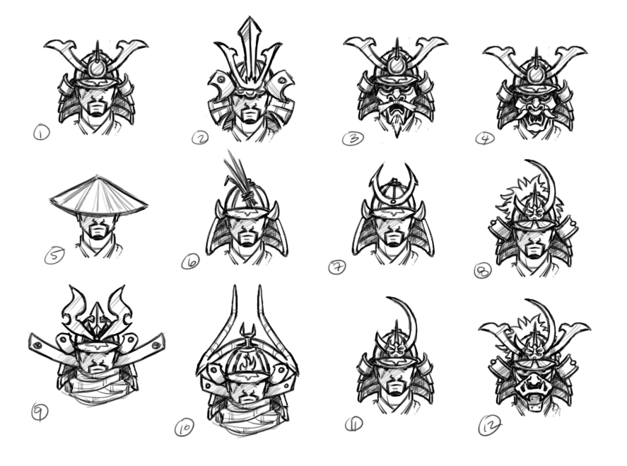Savage Samurai Concepts