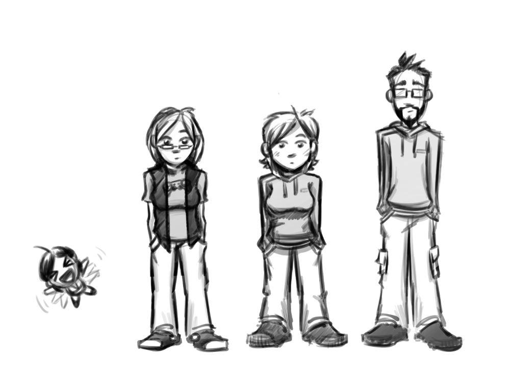 Chaotic Awkward - Character Concepts