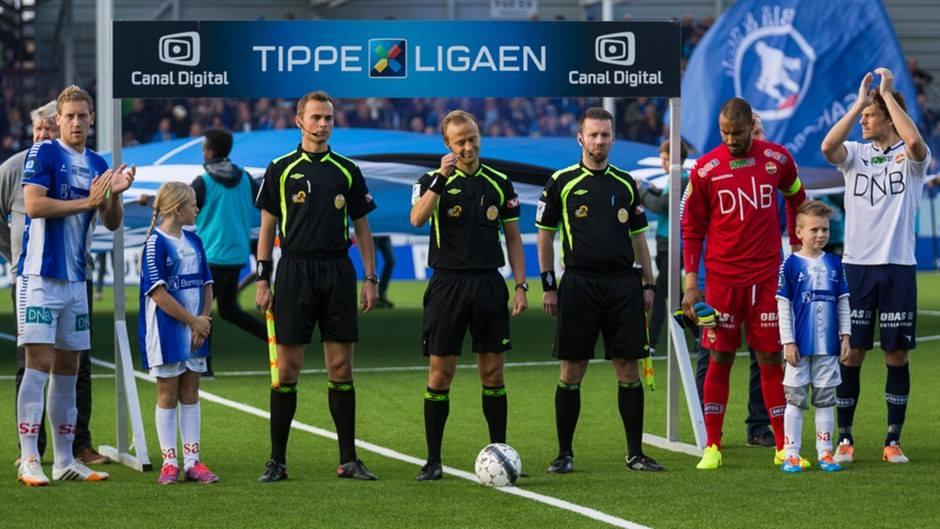 Ola Hobber Nilsen (28  ) er Norges nye FIFA-dommer.