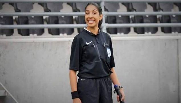 Sonia Khan fra Nordstrand IF skal være assistendommer i cupfinalen for kvinner. Foto: OFK.