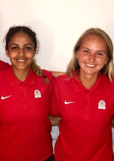 Marit Skurdal skal være assistentdommer i cupfinalen for kvinner, mens Maliha Ahmady skal være 4.dommer i J16-finalen.