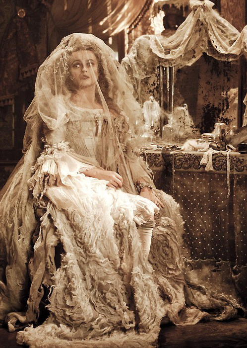 Helena Bonham Carter as Miss Havisham, 2012