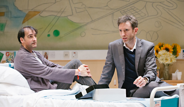 Daniel and Alistair McGowan in  4000 Days  at The Park Theatre, London till 13th Feb 2016.