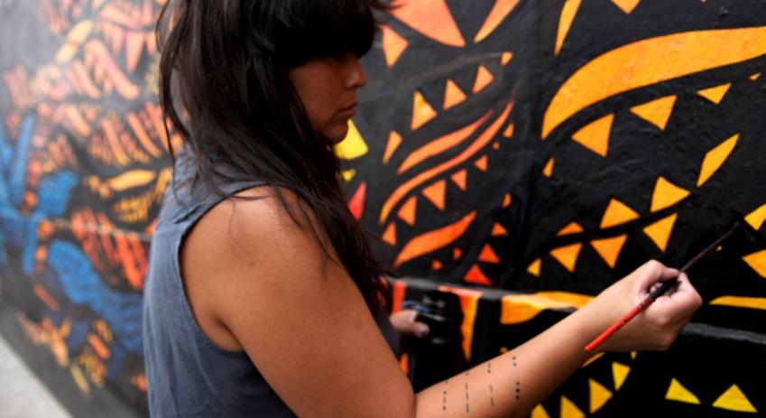 Paredes coloridas   Descobre artistas