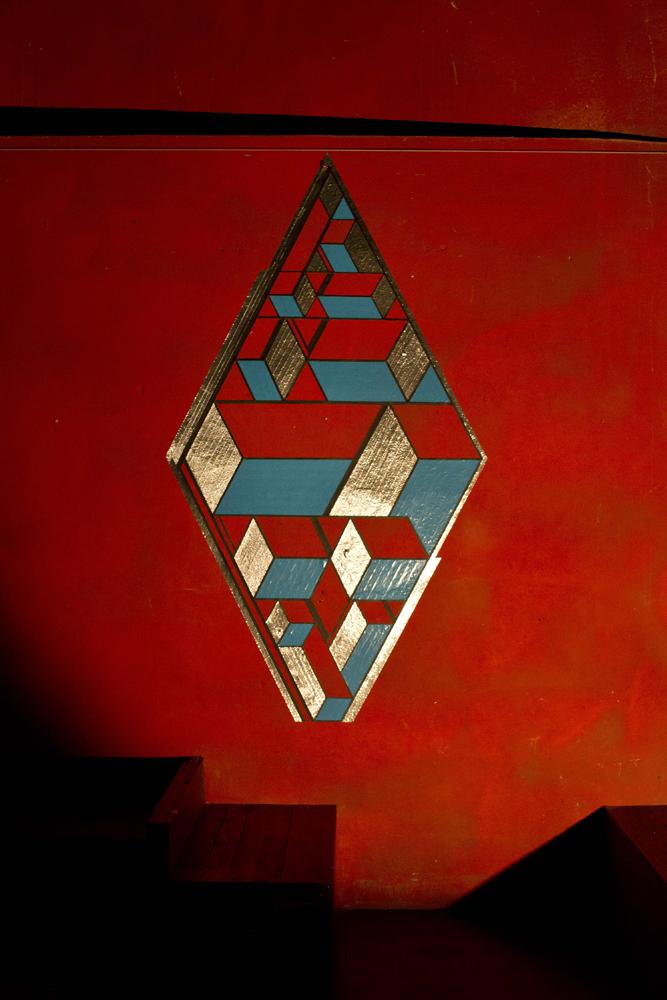 TAPE ART by TAPE OVER_cabaret aleatoire_graphic rhombus.jpg