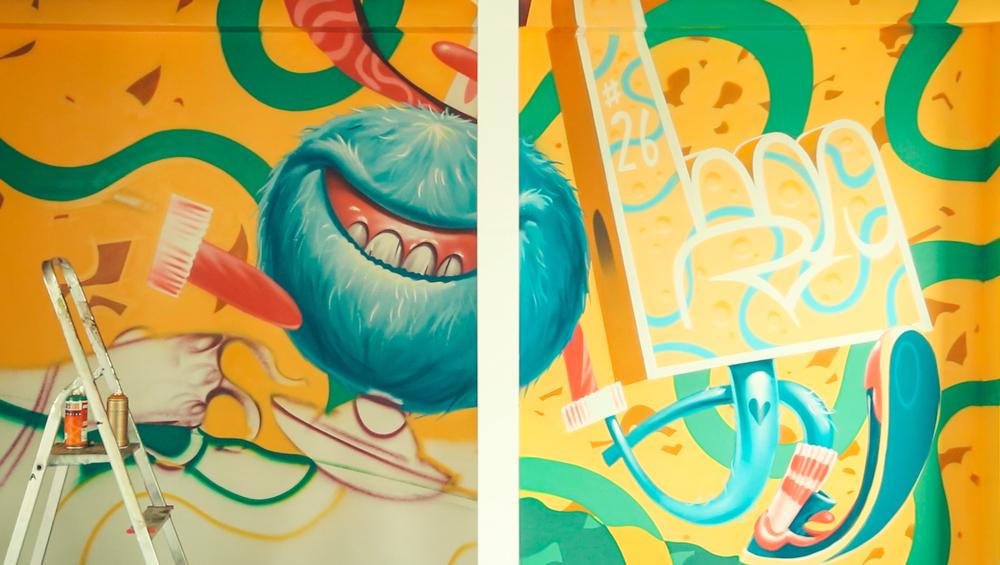Pintura em escritórios   Descobre artistas