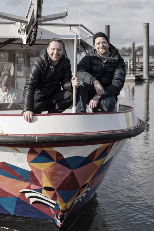 Björn Holzweg & Hubert Neubacher - copyright Janto Djassi
