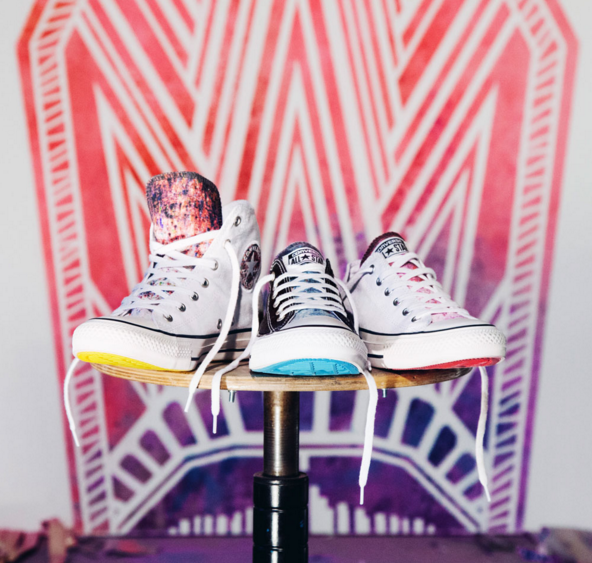 TAPE OVER x Converse