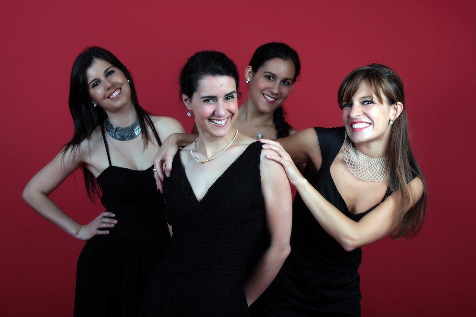 Francisca,Ana,Sara e Susana