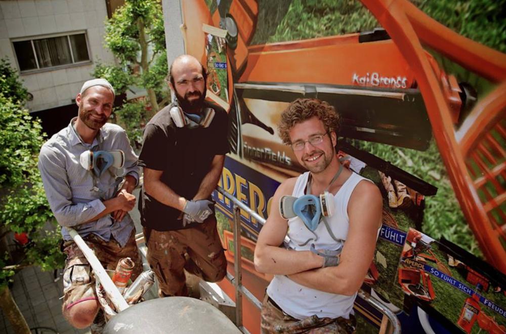 Die drei Mitglieder von Innerfields arbeiten seit 2008 zusammen