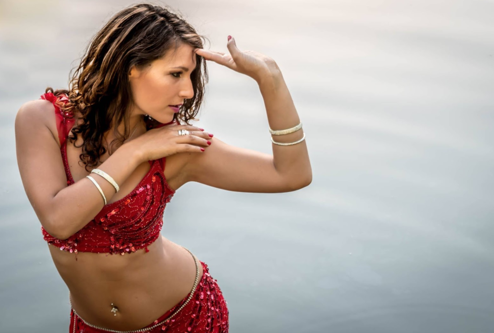 The graceful moves from Belly Dance