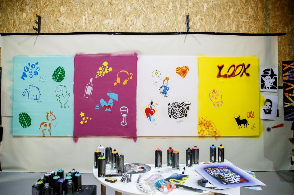 Stencil Workshop by Vitó