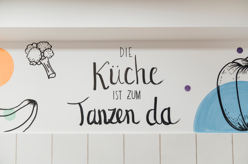 """""""The kitchen is for dancing"""" - Katharina Konte"""