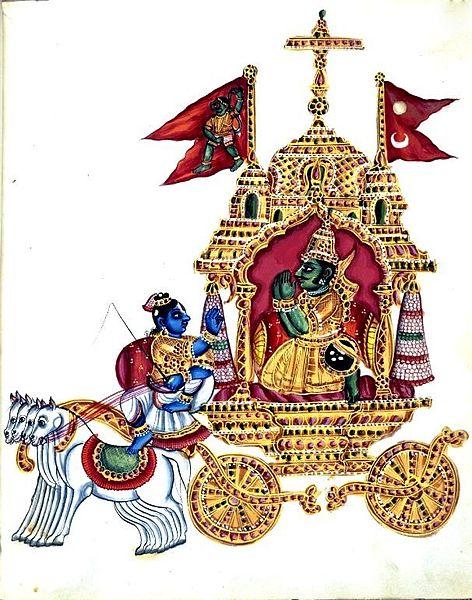 Krishna & Arjuna - The Bhagavad Gita