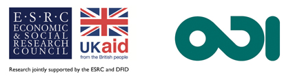 Research jointly supported by ESRC and DFID. Facilitated by ODI.