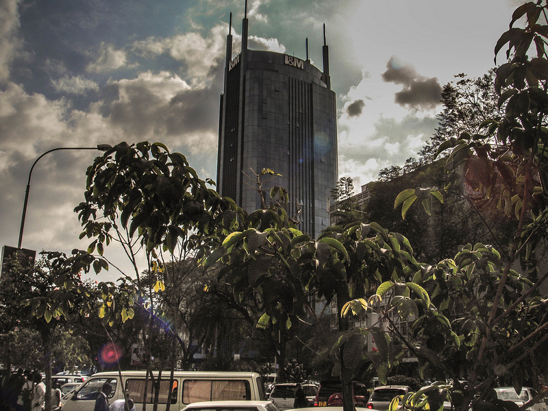 © Bank tower in Nairobi, James_hammond/Flickr Creative Commons