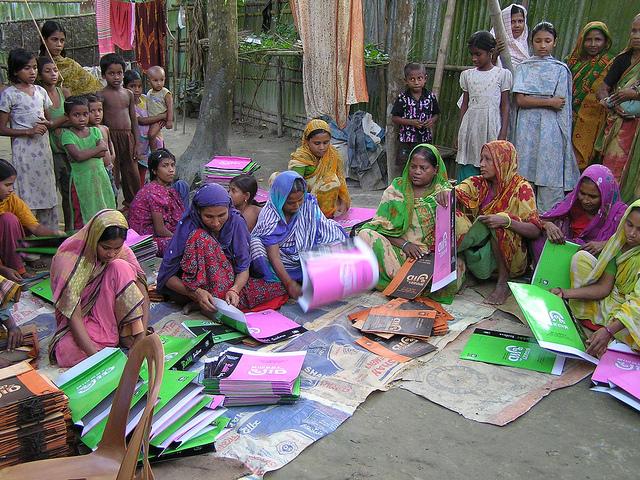 c. ILO - Bag making in rural Bangladesh