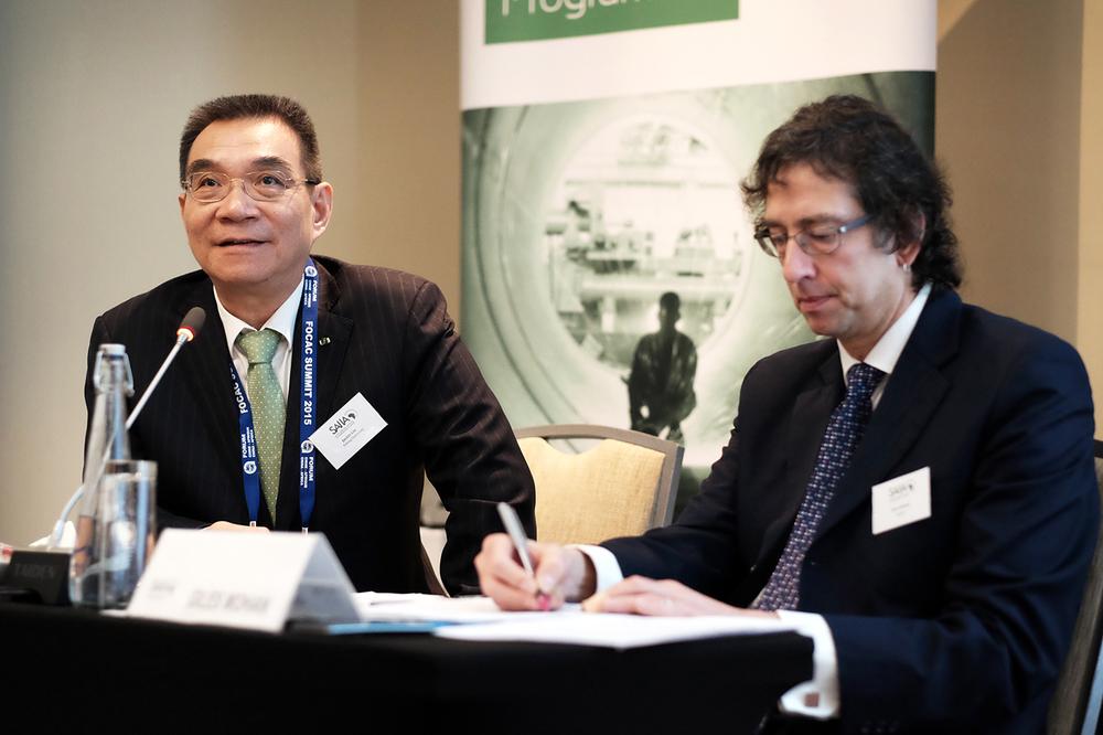 Justin Yifu Lin & Giles Mohan c. SAIIA/Willem de Lange