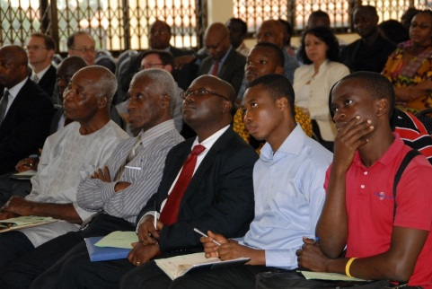 Audience at DEGRP/iSSER Financial Debate September 2013 Photo: © University of Ghana