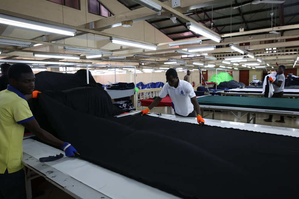 Textile factory, Accra, Ghana © Dominic Chavez/World Bank