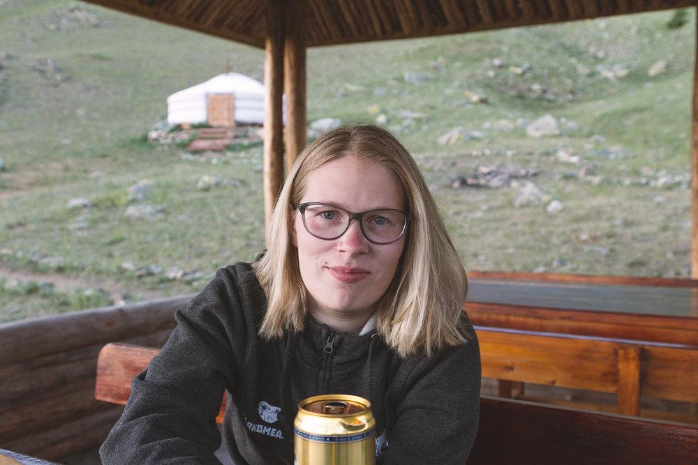 Marita på campen