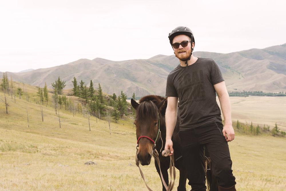 Kristoffer og hans treige hest