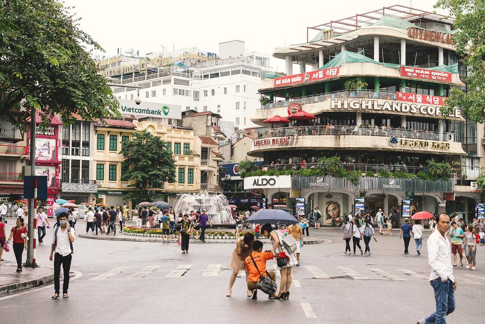 Bysentrum i Hanoi