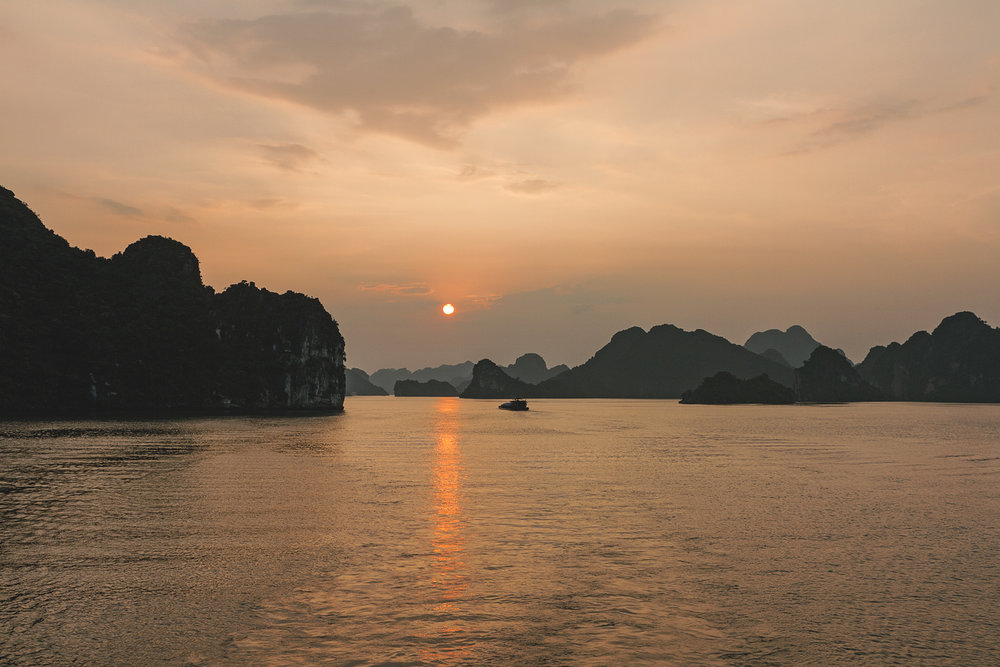 Cruise i Halong Bay!