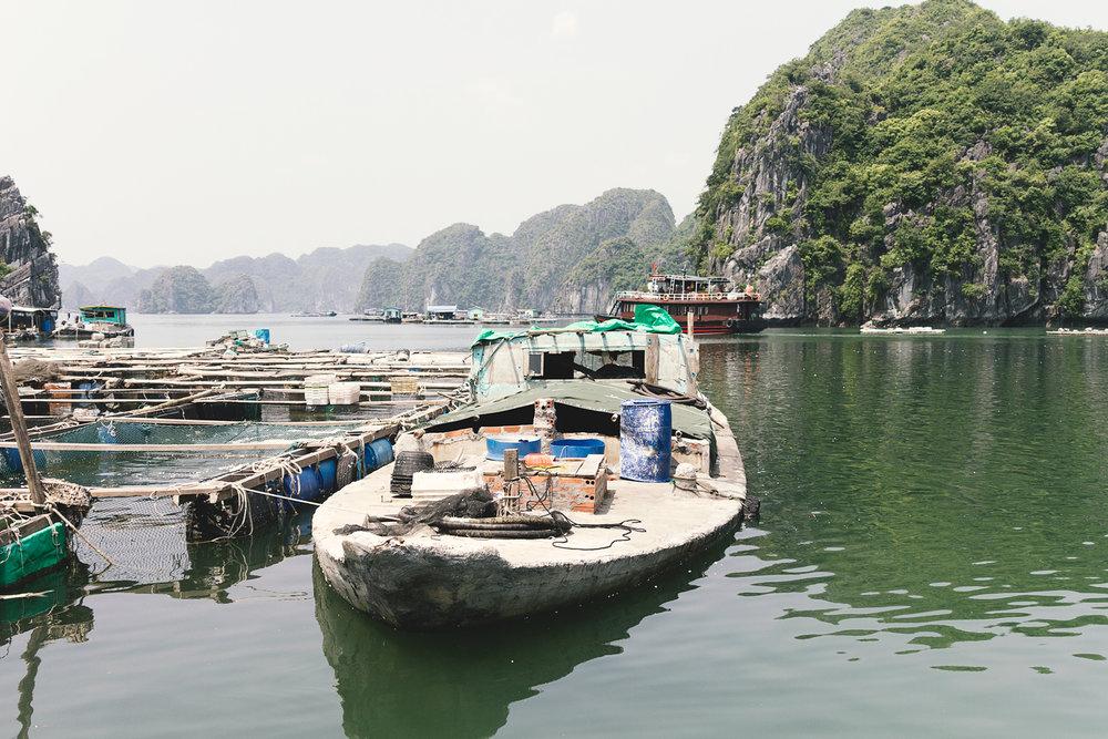 En båt i betong..