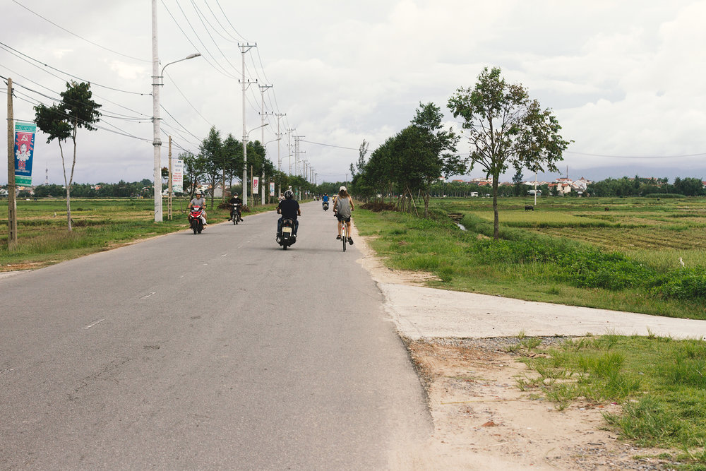 Sykkeltur i Hội An