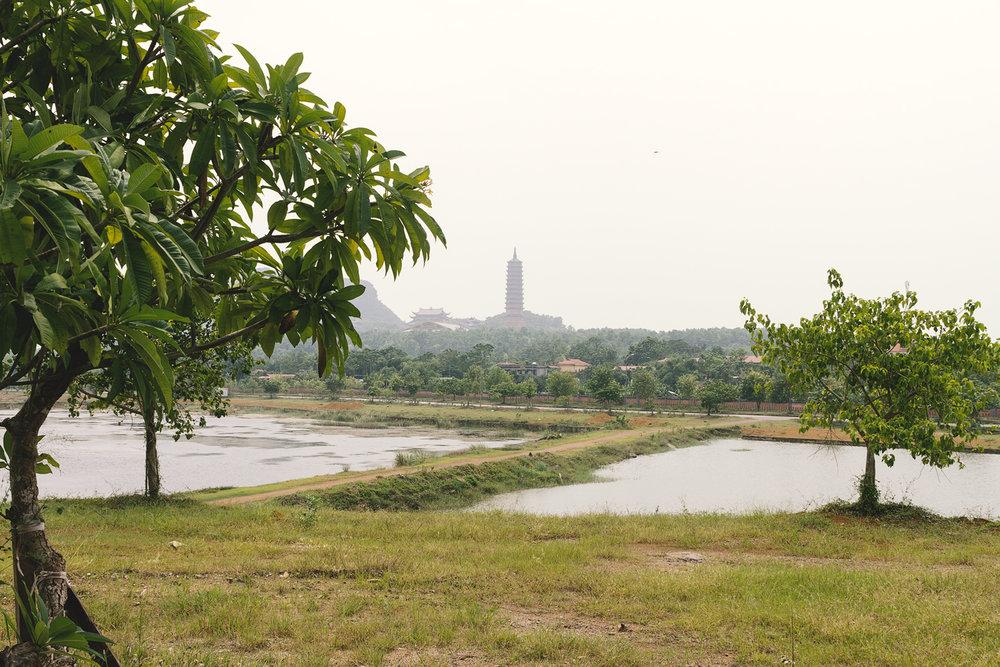 En pagoda vi egentlig skulle besøke...