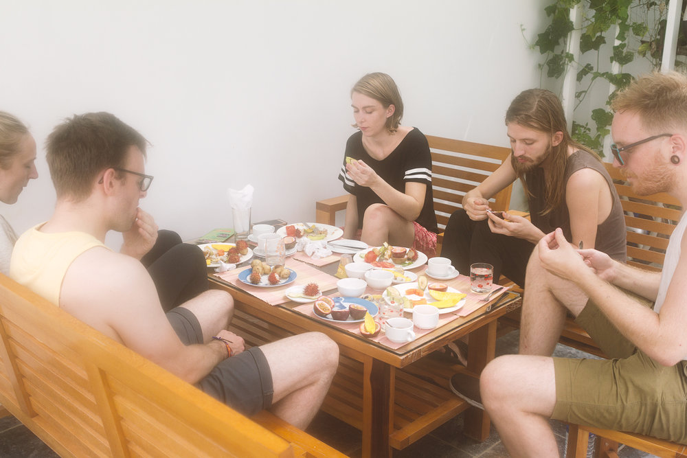 Frokost med gjengen