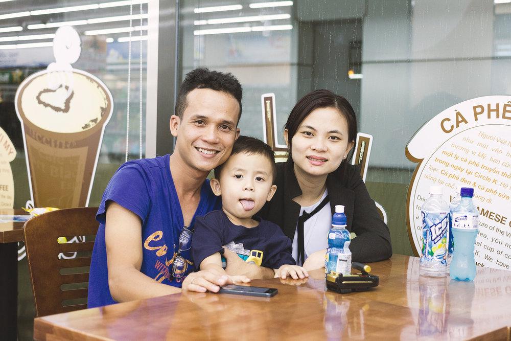 Drachan og familien