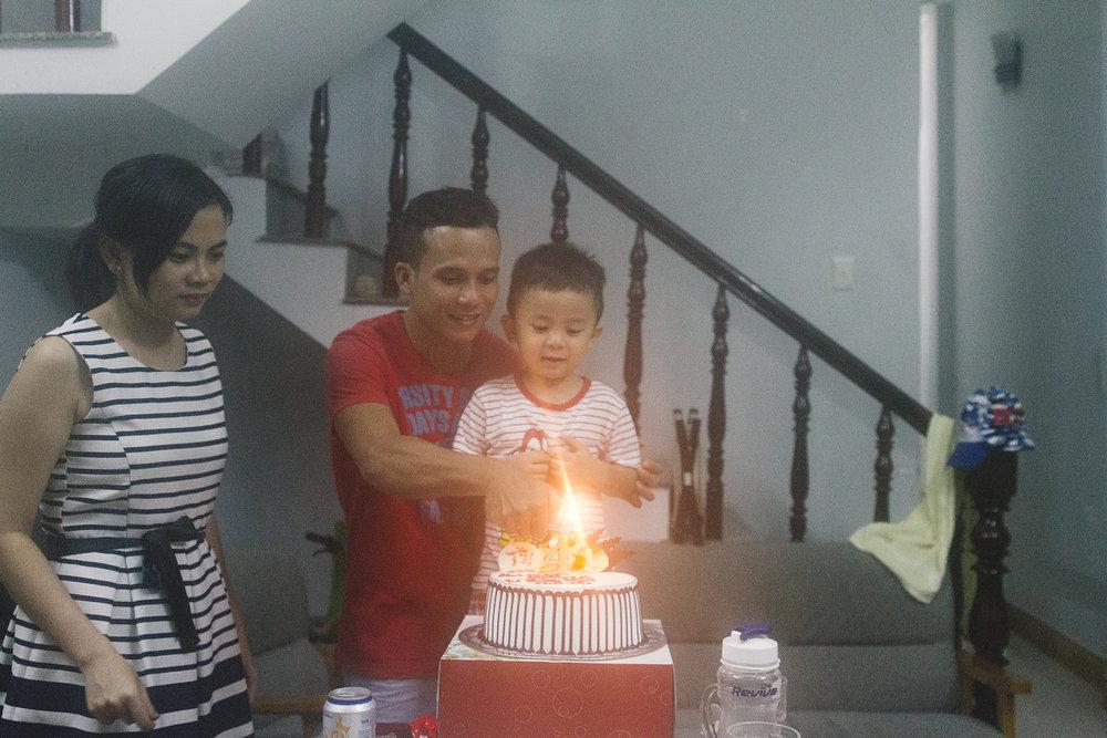 Gon (sønnen til Drachan) fylte 4 år!