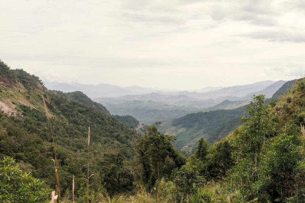 På vei fra Nha Trang til Da Lat