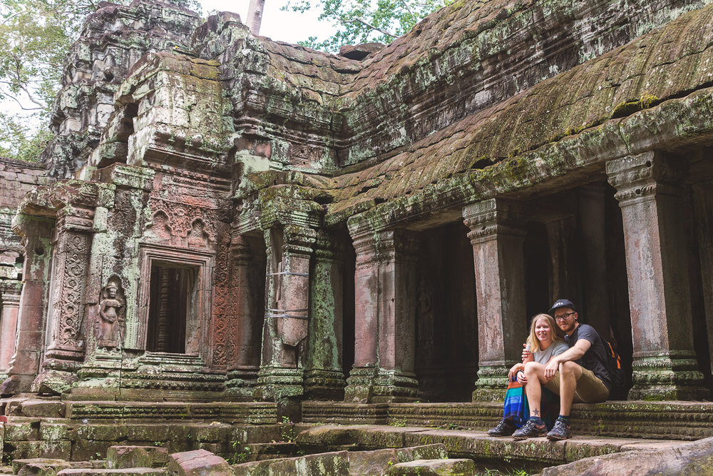 Oss to i Ta Prohm