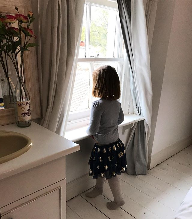 My best girl, daydreaming out of the window while she told me all the things she's thinking she might like for her next birthday (in seven months) 💗
