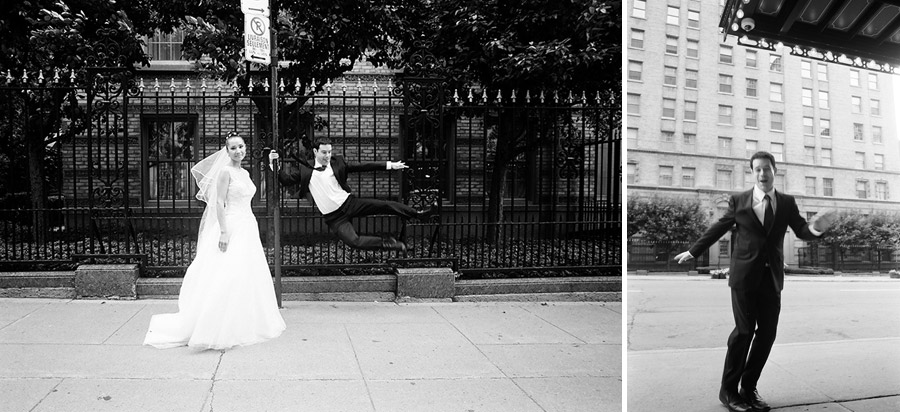 Jewish wedding in Montreal and Toronto, Spanish and Portuguese Synagogue