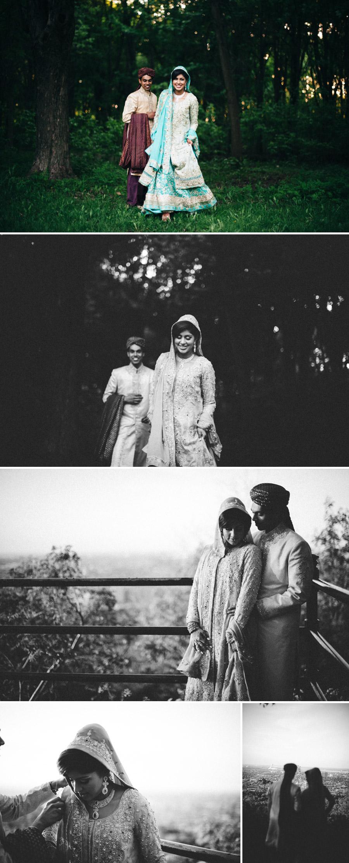 Montreal mountain couple shoot for wedding