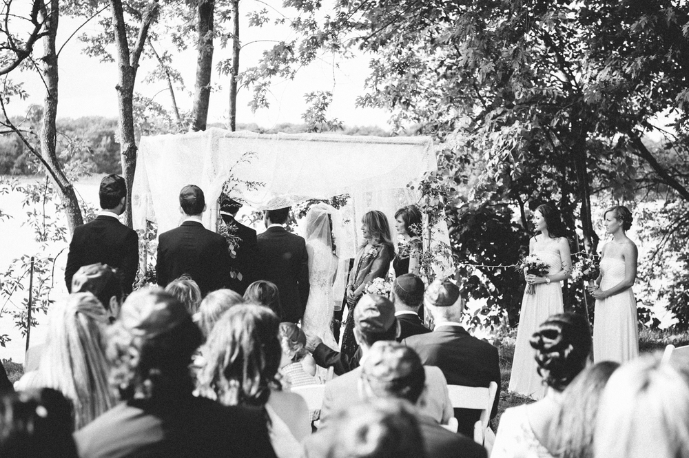 Montreal Outdoor Tent Jewish Wedding