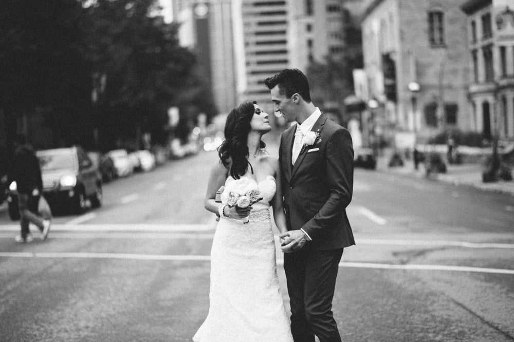 Unique and creative Montreal and Toronto wedding photographer